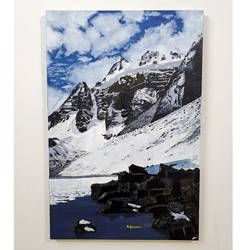 mountain , 20 x 30 inch, ashish goswami ,20x30inch,canvas board,paintings,landscape paintings,nature paintings | scenery paintings,paintings for dining room,paintings for living room,paintings for bedroom,paintings for office,paintings for kids room,paintings for hotel,paintings for school,paintings for hospital,oil color,GAL01916033577