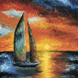 boat, 16 x 24 inch, krupali sutariya,16x24inch,canvas,paintings,modern art paintings,nature paintings | scenery paintings,contemporary paintings,paintings for dining room,paintings for living room,paintings for bedroom,paintings for office,paintings for bathroom,paintings for kids room,paintings for hotel,paintings for kitchen,paintings for school,paintings for hospital,oil color,GAL02077033644