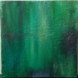 willows by the river, 12 x 12 inch, reshma s,12x12inch,hardboard,paintings,abstract paintings,acrylic color,GAL02185333646