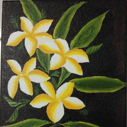 floral art, 8 x 10 inch, akshata  chavan ,8x10inch,canvas,paintings,flower paintings,paintings for dining room,paintings for bedroom,paintings for office,paintings for hotel,paintings for school,paintings for hospital,acrylic color,GAL02186133658