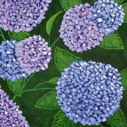 hydrangeas, 15 x 16 inch, gitika singh,15x16inch,canvas,paintings,flower paintings,nature paintings | scenery paintings,paintings for dining room,paintings for living room,paintings for bedroom,paintings for office,paintings for hotel,acrylic color,GAL01865433673