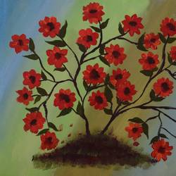 beautiful flowers, 16 x 12 inch, sujitha  sreeramula chengalrayan,16x12inch,canvas,paintings,flower paintings,paintings for dining room,paintings for living room,paintings for bedroom,paintings for office,paintings for kids room,paintings for hotel,paintings for dining room,paintings for living room,paintings for bedroom,paintings for office,paintings for kids room,paintings for hotel,acrylic color,GAL02189833697