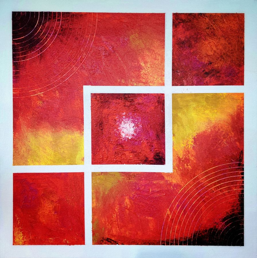 chromosphere, 18 x 18 inch, sahil jain,18x18inch,canvas,paintings,abstract paintings,paintings for dining room,paintings for living room,paintings for bedroom,paintings for office,paintings for hotel,paintings for school,paintings for hospital,paintings for dining room,paintings for living room,paintings for bedroom,paintings for office,paintings for hotel,paintings for school,paintings for hospital,acrylic color,GAL02013833713
