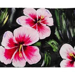 flowers, 18 x 24 inch, pranati garje,18x24inch,canvas,paintings,flower paintings,paintings for dining room,paintings for living room,acrylic color,GAL02196633732