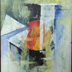nature ii, 14 x 18 inch, devaprotim hazarika,14x18inch,canvas,paintings,abstract paintings,acrylic color,GAL02200833772
