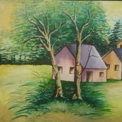 village houses, 15 x 11 inch, puja singha,15x11inch,oil sheet,landscape paintings,paintings for dining room,paintings for living room,paintings for office,paintings for bathroom,paintings for kids room,paintings for hotel,paintings for school,paintings for dining room,paintings for living room,paintings for office,paintings for bathroom,paintings for kids room,paintings for hotel,paintings for school,oil color,GAL02164333782