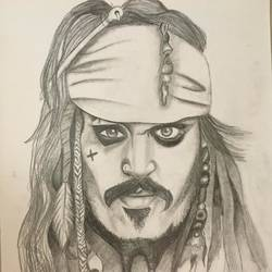 pirate , 12 x 17 inch, linda joy j,12x17inch,drawing paper,drawings,fine art drawings,paintings for living room,paintings for office,graphite pencil,paper,GAL02197533803