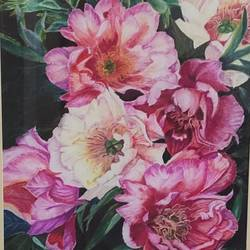 fragrance of flowers, 14 x 21 inch, surabhi  singh ,14x21inch,cartridge paper,paintings,flower paintings,nature paintings | scenery paintings,photorealism paintings,realism paintings,realistic paintings,paintings for dining room,paintings for living room,paintings for bedroom,paintings for office,paintings for kids room,paintings for hotel,paintings for school,paintings for hospital,pastel color,GAL01950533872