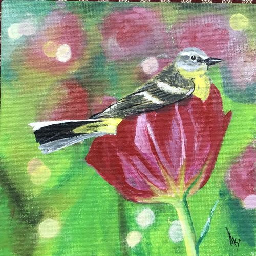 spring bird, 6 x 6 inch, akansha singh,6x6inch,canvas,wildlife paintings,flower paintings,nature paintings | scenery paintings,expressionism paintings,animal paintings,paintings for dining room,paintings for living room,paintings for bedroom,paintings for office,paintings for kids room,paintings for hotel,paintings for school,paintings for hospital,paintings for dining room,paintings for living room,paintings for bedroom,paintings for office,paintings for kids room,paintings for hotel,paintings for school,paintings for hospital,acrylic color,GAL02164033883