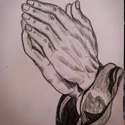 praying hands , 8 x 12 inch, lin taji,8x12inch,paper,drawings,abstract drawings,art deco drawings,figurative drawings,fine art drawings,illustration drawings,charcoal,graphite pencil,paper,GAL02190033926