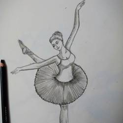 ballerina , 8 x 12 inch, lin taji,8x12inch,paper,drawings,abstract drawings,art deco drawings,figurative drawings,illustration drawings,portrait drawings,charcoal,graphite pencil,paper,GAL02190033929