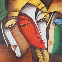 intimacy-01, 36 x 24 inch, shubham sheel gautam,36x24inch,canvas,paintings,figurative paintings,paintings for dining room,paintings for living room,paintings for bedroom,paintings for office,paintings for hotel,paintings for kitchen,paintings for hospital,acrylic color,GAL02078833945