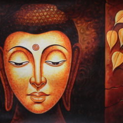 lord buddha, 36 x 24 inch, shubham sheel gautam,36x24inch,canvas,paintings,buddha paintings,paintings for dining room,paintings for living room,paintings for bedroom,paintings for office,paintings for hotel,paintings for kitchen,paintings for school,paintings for hospital,acrylic color,GAL02078833953