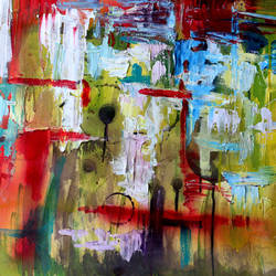 i'm lost, 60 x 30 inch, dana qino,60x30inch,canvas,paintings,abstract paintings,paintings for living room,acrylic color,GAL02212134013