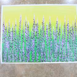 lavender field, 24 x 18 inch, neha nayak,24x18inch,canvas,paintings,flower paintings,acrylic color,GAL02207234029