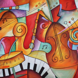 musical modern art, 48 x 24 inch, shubham sheel gautam,48x24inch,canvas,paintings,modern art paintings,paintings for dining room,paintings for living room,paintings for bedroom,paintings for office,paintings for bathroom,paintings for kids room,paintings for hotel,paintings for kitchen,paintings for school,paintings for hospital,acrylic color,GAL02078834044