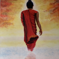 eternal peace, 18 x 24 inch, bhairvi chaudhry,18x24inch,canvas,paintings,abstract paintings,buddha paintings,figurative paintings,paintings for dining room,paintings for living room,paintings for bedroom,paintings for office,paintings for hotel,paintings for school,paintings for hospital,paintings for dining room,paintings for living room,paintings for bedroom,paintings for office,paintings for hotel,paintings for school,paintings for hospital,oil color,GAL02218334132