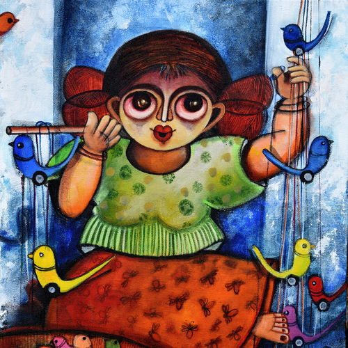 happiness seller , 24 x 18 inch, sharmi dey,24x18inch,canvas,figurative paintings,paintings for dining room,paintings for living room,paintings for bedroom,paintings for office,paintings for kids room,paintings for hotel,paintings for dining room,paintings for living room,paintings for bedroom,paintings for office,paintings for kids room,paintings for hotel,acrylic color,GAL02215734181