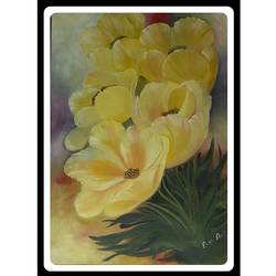 bloom and shine, 22 x 29 inch, rennie eva  lall,22x29inch,canvas,paintings,flower paintings,paintings for dining room,paintings for living room,paintings for bedroom,paintings for office,paintings for bathroom,paintings for kids room,paintings for hotel,paintings for kitchen,paintings for school,paintings for hospital,oil color,GAL02165934309