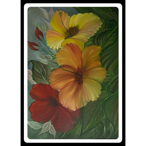 flower paintings , 21 x 29 inch, rennie eva  lall,21x29inch,canvas,paintings,flower paintings,paintings for dining room,paintings for living room,paintings for bedroom,paintings for office,paintings for bathroom,paintings for kids room,paintings for hotel,paintings for kitchen,paintings for school,paintings for hospital,oil color,GAL02165934312