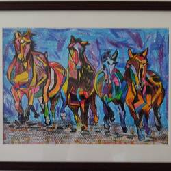 horses in the still frame, 11 x 8 inch, surabhi g,11x8inch,thick paper,paintings,nature paintings | scenery paintings,animal paintings,horse paintings,paintings for dining room,paintings for living room,paintings for bedroom,paintings for office,paintings for bathroom,paintings for kids room,paintings for hotel,paintings for kitchen,paintings for school,paintings for hospital,pastel color,GAL02240634358
