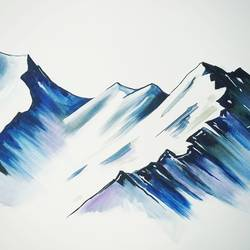 the mighty mountains , 36 x 30 inch, dr pratishtha rastogi,36x30inch,canvas,paintings,abstract paintings,landscape paintings,modern art paintings,nature paintings   scenery paintings,abstract expressionism paintings,illustration paintings,impressionist paintings,minimalist paintings,realism paintings,paintings for dining room,paintings for living room,paintings for bedroom,paintings for office,paintings for hotel,paintings for kitchen,paintings for school,paintings for hospital,acrylic color,GAL02238934401