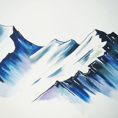 the mighty mountains , 36 x 30 inch, dr pratishtha rastogi,36x30inch,canvas,paintings,abstract paintings,landscape paintings,modern art paintings,nature paintings | scenery paintings,abstract expressionism paintings,illustration paintings,impressionist paintings,minimalist paintings,realism paintings,paintings for dining room,paintings for living room,paintings for bedroom,paintings for office,paintings for hotel,paintings for kitchen,paintings for school,paintings for hospital,acrylic color,GAL02238934401