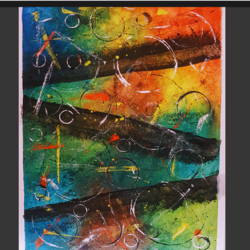 abstract painting, 12 x 16 inch, praneetha rao,12x16inch,canvas,paintings,abstract paintings,abstract expressionism paintings,paintings for dining room,paintings for living room,paintings for bedroom,paintings for office,paintings for hotel,watercolor,GAL02162934451