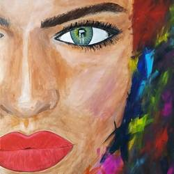 she, 24 x 36 inch, anjana bora,24x36inch,canvas,abstract paintings,modern art paintings,portrait paintings,art deco paintings,paintings for dining room,paintings for living room,paintings for bedroom,paintings for office,paintings for bathroom,paintings for hotel,paintings for school,paintings for hospital,paintings for dining room,paintings for living room,paintings for bedroom,paintings for office,paintings for bathroom,paintings for hotel,paintings for school,paintings for hospital,acrylic color,GAL02226234482
