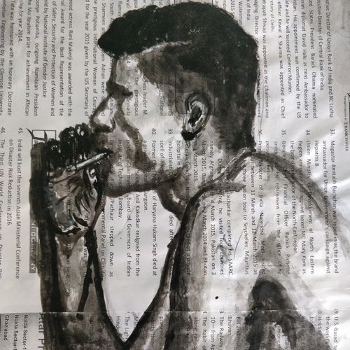 the smoker, 8 x 10 inch, anjana bora,8x10inch,paper,paintings,abstract paintings,figurative paintings,modern art paintings,portrait paintings,art deco paintings,paintings for dining room,paintings for living room,paintings for bedroom,paintings for office,paintings for bathroom,paintings for hotel,paintings for dining room,paintings for living room,paintings for bedroom,paintings for office,paintings for bathroom,paintings for hotel,acrylic color,GAL02226234494