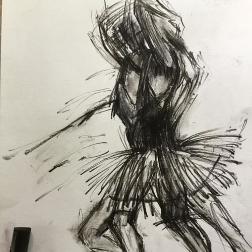 dancing, 8 x 12 inch, shankhadeep  mondal,8x12inch,paper,drawings,figurative drawings,fine art drawings,modern drawings,paintings for dining room,paintings for living room,paintings for bedroom,paintings for office,paintings for kids room,paintings for kitchen,paintings for school,paintings for hospital,charcoal,paper,GAL01403034566