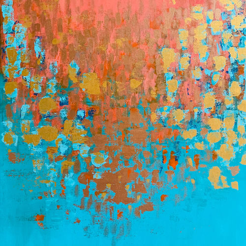 harmony , 24 x 33 inch, haritha reddy,24x33inch,canvas,paintings,abstract paintings,acrylic color,GAL02222134582