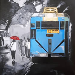 kolkata 01, 18 x 24 inch, tejal bhagat,18x24inch,canvas,paintings,abstract paintings,cityscape paintings,landscape paintings,conceptual paintings,nature paintings   scenery paintings,expressionism paintings,illustration paintings,impressionist paintings,photorealism paintings,photorealism,realism paintings,street art,surrealism paintings,contemporary paintings,realistic paintings,love paintings,paintings for dining room,paintings for living room,paintings for bedroom,paintings for office,paintings for kids room,paintings for hotel,paintings for kitchen,paintings for school,paintings for hospital,acrylic color,GAL02041534604