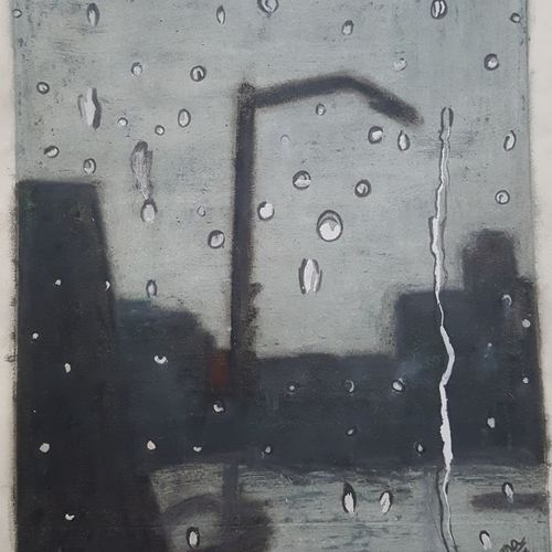 rain on a window, 6 x 8 inch, praneetha rao,6x8inch,drawing paper,drawings,paintings for dining room,paintings for living room,paintings for bedroom,paintings for office,paintings for kids room,paintings for hotel,abstract drawings,abstract expressionism drawings,realism drawings,paintings for dining room,paintings for living room,paintings for bedroom,paintings for office,paintings for kids room,paintings for hotel,pastel color,pencil color,watercolor,GAL02162934622