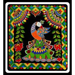 madhubani painting , 24 x 26 inch, rennie eva  lall,24x26inch,canvas,paintings,art deco paintings,madhubani paintings | madhubani art,paintings for dining room,paintings for living room,paintings for bedroom,paintings for office,paintings for bathroom,paintings for kids room,paintings for hotel,paintings for kitchen,paintings for school,paintings for hospital,acrylic color,GAL02165934726