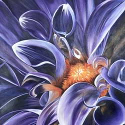 lavender shades of blossom , 24 x 36 inch, sneha villait,24x36inch,canvas,paintings,flower paintings,acrylic color,GAL02295134744