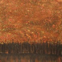 autumn reflection, 24 x 36 inch, iftheqar hussain,24x36inch,canvas,paintings,abstract paintings,landscape paintings,modern art paintings,nature paintings | scenery paintings,contemporary paintings,acrylic color,GAL02260234750