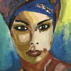 the glare, 10 x 12 inch, eram durrani,10x12inch,canvas,paintings,portrait paintings,acrylic color,GAL02303834789