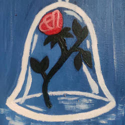 the enchanted rose, 8 x 10 inch, adrija choudhury,8x10inch,canvas,paintings,flower paintings,oil color,GAL02286934813