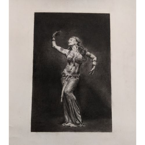 dancer's light, 6 x 9 inch, himica sharma,6x9inch,paper,drawings,paintings for dining room,paintings for living room,paintings for bedroom,paintings for office,paintings for bathroom,paintings for hotel,paintings for school,figurative drawings,folk drawings,paintings for dining room,paintings for living room,paintings for bedroom,paintings for office,paintings for bathroom,paintings for hotel,paintings for school,graphite pencil,GAL02307034814