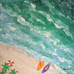 waves of life, 18 x 18 inch, richa tat,18x18inch,canvas board,paintings,abstract paintings,figurative paintings,modern art paintings,conceptual paintings,still life paintings,nature paintings | scenery paintings,paintings for dining room,paintings for living room,paintings for bedroom,paintings for office,paintings for bathroom,paintings for kids room,paintings for hotel,paintings for kitchen,paintings for school,paintings for hospital,acrylic color,GAL02306734819