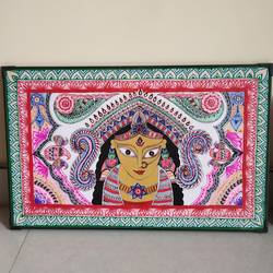 durga maa, 22 x 14 inch, sudha lekh,22x14inch,thick paper,drawings,folk drawings,paintings for dining room,paintings for living room,paintings for bedroom,paintings for office,paintings for hotel,paintings for school,pen color,pencil color,poster color,watercolor,ball point pen,GAL02307234993