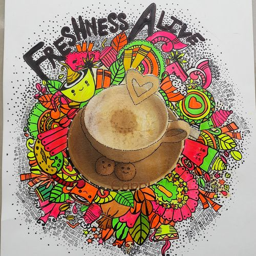 freshness alive doodle art, 16 x 12 inch, mrs. bharti  verma,16x12inch,thick paper,paintings,modern art paintings,paintings for dining room,paintings for living room,paintings for bedroom,paintings for office,paintings for kids room,paintings for hotel,paintings for kitchen,paintings for school,paintings for hospital,paintings for dining room,paintings for living room,paintings for bedroom,paintings for office,paintings for kids room,paintings for hotel,paintings for kitchen,paintings for school,paintings for hospital,mixed media,GAL02280435006