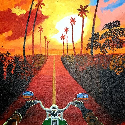 after corona travel desire, 18 x 24 inch, nikhil singh rawat,18x24inch,canvas board,paintings,abstract paintings,landscape paintings,nature paintings | scenery paintings,paintings for dining room,paintings for living room,paintings for bedroom,paintings for office,paintings for kids room,paintings for hotel,paintings for school,paintings for hospital,acrylic color,GAL02338635025