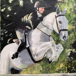 horserider, 16 x 20 inch, akanksha shrivastava,16x20inch,canvas,paintings,figurative paintings,landscape paintings,horse paintings,paintings for dining room,paintings for living room,paintings for bedroom,paintings for office,paintings for bathroom,paintings for kids room,paintings for hotel,paintings for kitchen,paintings for school,paintings for hospital,acrylic color,GAL02340035038