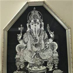 ganesh painting, 16 x 20 inch, pragya sharma,16x20inch,acrylic glass,foil paintings,religious paintings,ganesha paintings | lord ganesh paintings,paintings for dining room,paintings for living room,paintings for bedroom,paintings for hotel,paintings for school,paintings for hospital,paintings for dining room,paintings for living room,paintings for bedroom,paintings for hotel,paintings for school,paintings for hospital,acrylic color,glass,GAL02354735153