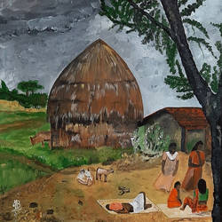 village 02, 18 x 18 inch, tejal bhagat,18x18inch,canvas,abstract paintings,wildlife paintings,figurative paintings,flower paintings,landscape paintings,modern art paintings,conceptual paintings,religious paintings,nature paintings | scenery paintings,abstract expressionism paintings,expressionism paintings,illustration paintings,impressionist paintings,photorealism paintings,photorealism,realism paintings,surrealism paintings,animal paintings,love paintings,paintings for dining room,paintings for living room,paintings for bedroom,paintings for office,paintings for hotel,paintings for kitchen,paintings for school,paintings for hospital,paintings for dining room,paintings for living room,paintings for bedroom,paintings for office,paintings for hotel,paintings for kitchen,paintings for school,paintings for hospital,acrylic color,GAL02041535202