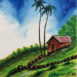 hillstation, 10 x 12 inch, akansha singh,10x12inch,canvas,wildlife paintings,flower paintings,landscape paintings,still life paintings,realism paintings,realistic paintings,paintings for living room,paintings for bedroom,paintings for office,paintings for kids room,paintings for hotel,paintings for school,paintings for hospital,paintings for living room,paintings for bedroom,paintings for office,paintings for kids room,paintings for hotel,paintings for school,paintings for hospital,acrylic color,GAL02164035203