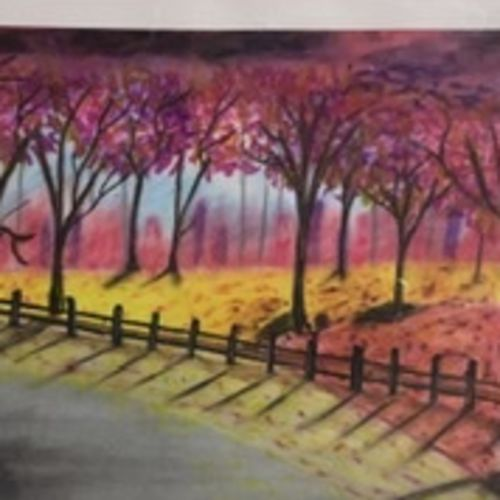 a2-art, 13 x 18 inch, anita  yadav,13x18inch,thick paper,landscape paintings,paintings for dining room,paintings for living room,paintings for bedroom,paintings for office,paintings for hotel,paintings for dining room,paintings for living room,paintings for bedroom,paintings for office,paintings for hotel,pastel color,paper,GAL02348435217