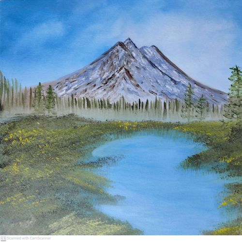serene, 16 x 12 inch, e 21 niketan,16x12inch,canvas board,paintings,landscape paintings,paintings for dining room,paintings for living room,paintings for bedroom,paintings for office,paintings for hotel,paintings for hospital,oil color,GAL02266935218